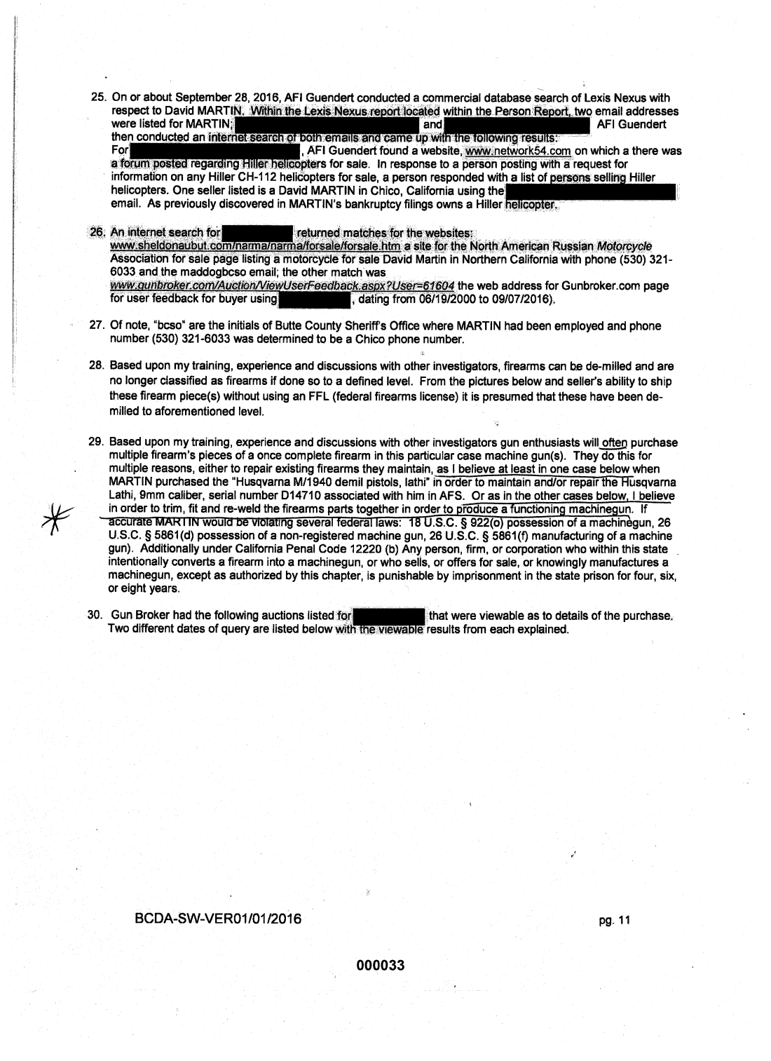 Statement of probable cause page 7