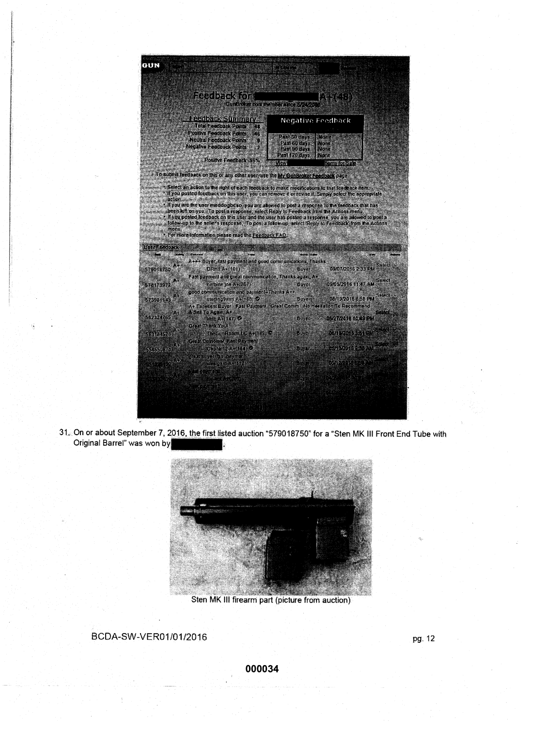 Statement of probable cause page 8